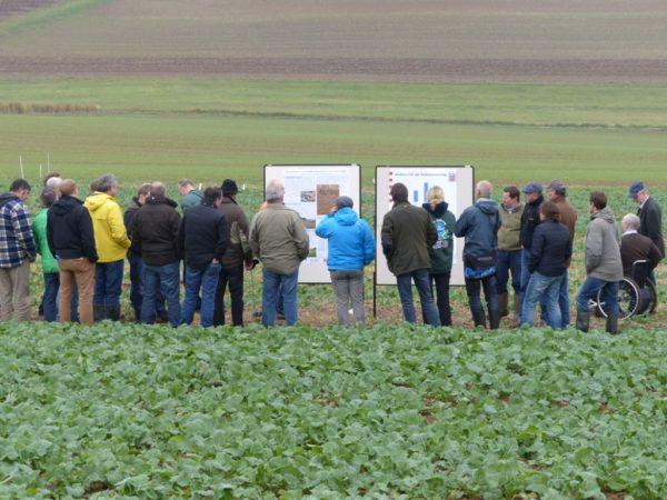 Feldtag zur Bodenbearbeitung