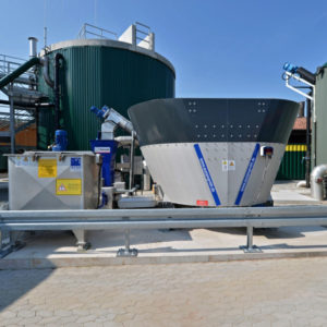 Biogasversuchsanlage auf dem Eichhof