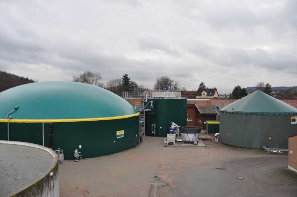 Biogasanlage des Eichhofs