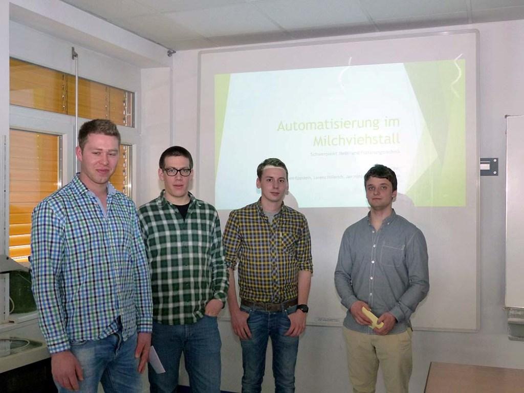 Fachschüler Der Friedrich Aereboe Schule Stellen Landwirtschaftliche