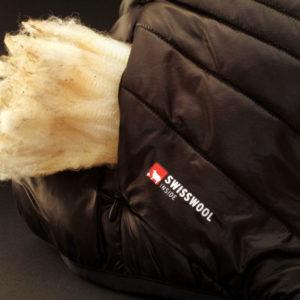 Foto: Leonhard Habersetzer; Wolle als feuchtigkeitstolerante Alternative zu Daunen im Outdoor- und Bergsportbereich