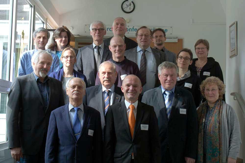 Fachausschuss Gartenbau und Ressourcenschutz im März 2016