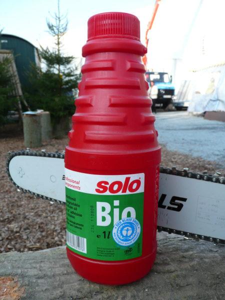 Kettensägenöl auf Bio-Basis