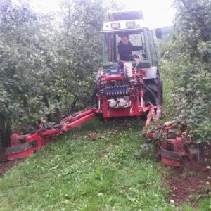 Mechanische Bodenbearbeitung mit Ladurner