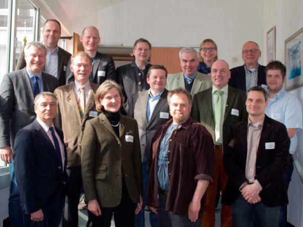 Mitglieder des Fachausschusses Pflanzenbau, Biodiversität und Ressourcenschutz im März 2016
