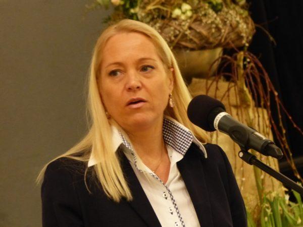 Grußwort von Claudia Trübenbach , der stellv. Vorsitzenden der Fachgruppe Gemüsebau im Gartenbauverband Baden-Württemberg-Hessen e. V.