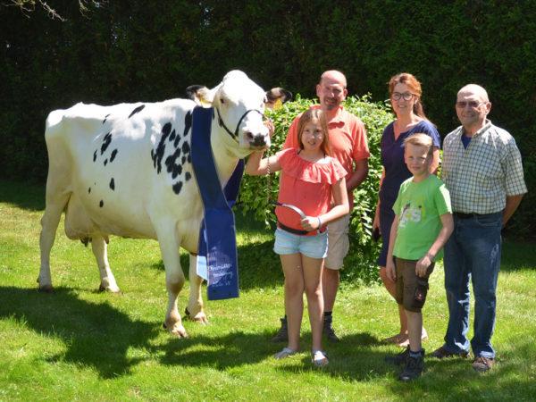 Clarina und Familie Breithecker