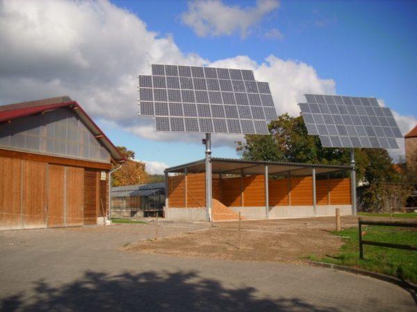 Landwirtschaftszentrum Eichhof Solaranlage