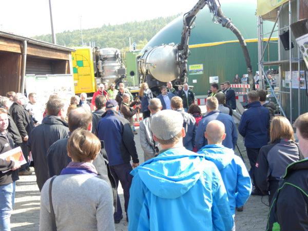 Der Praxistag traf auf großes Interesse bei den Biogasanlagen-Betreibern.