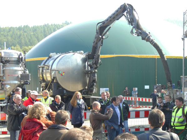 Sanierungsarbeiten an einer Biogasanlage