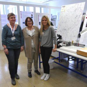 Christine Fingerhut, Gerda Waldschmidt und Sandra Backhaus standen Rede und Anwort