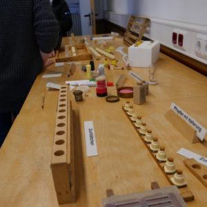 Materialien rund um die Bienenforschung