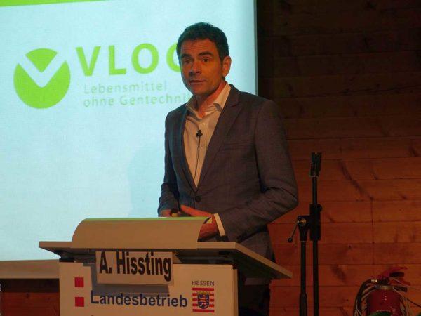 """Das Interesse an """"Gentechnik frei"""" gekennzeichneten Lebensmittel wird laut Alexander Hissting (Verband Lebensmittel ohne Gentechnik, Berlin) weiter zunehmen, da Verbraucher damit bewusst entscheiden können."""