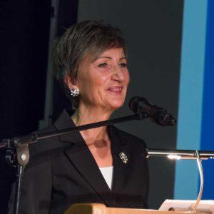 Annette Enders vom hessischen Landwirtschaftsministerium vertrat Ministerin Priska Hinz.