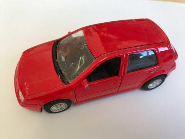Modellauto, rot, PKW