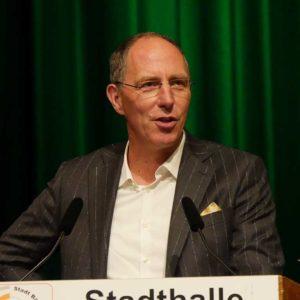 """Thomas Ranft, Moderator des Hessischen Rundfunks spricht zum Thema """"Landwirtschaft zwischen Skandalisierung und heiler Welt"""""""