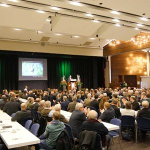 Eröffnung der 70. Landwirtschaftlichen Woche Nordhessen durch Karsten Schmal, Vorsitzender der AG Landwirtschaftliche Woche e.V.