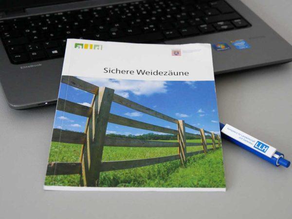 """AID-Broschüre """"Sichere Weidezäune"""""""