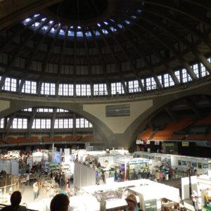 Jahrhunderthalle Breslau/Wroclaw, Innenansicht mit Kuppel