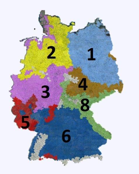 Soja Standorte JKI